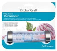 KitchenCraft Fridge Freezer Thermometer - With Suction Cup